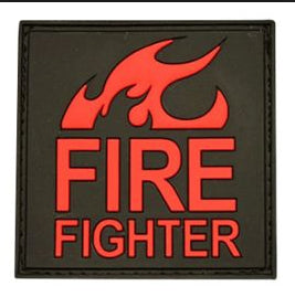 Patch Fire Fighter Blackmedic - JTG - LevelFour