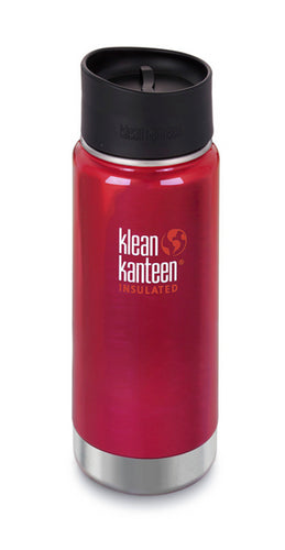 Gourde Isotherme Wide  473ml Rouge - Klean Kanteen - LevelFour