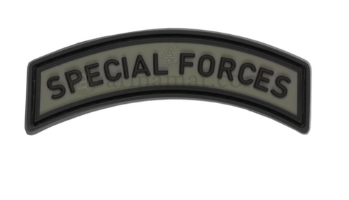 Special Forces Tab Rubber Patch OD - JTG - LevelFour