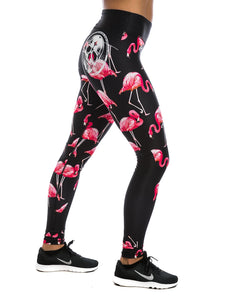 Legging Tights Red Flamingo (BEAUTY) - Northern Spirit - LevelFour