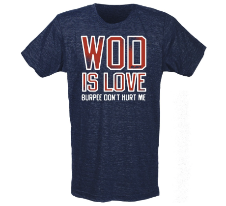 T-Shirt Wod is Love - G2OH