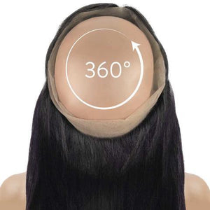 360 Lace Frontal -  Straight