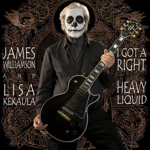 "James Williamson & Lisa Kekaula - ""I Got A Right"" 7 inch single"