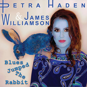 "James Williamson & Petra Haden - ""Blues Jumped The Rabbit"" 7 inch single"