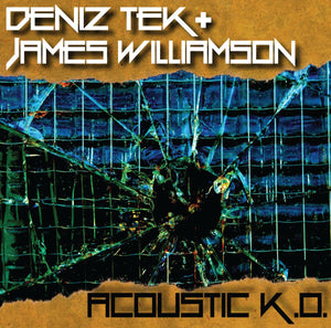 "Deniz Tek & James Williamson - ""Acoustic K.O."" EP"
