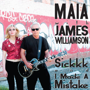 "James Williamson & Maia - ""Sickkk"" 7 inch single"