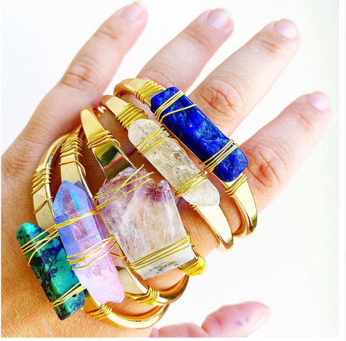 Mystical Crystal Cuff