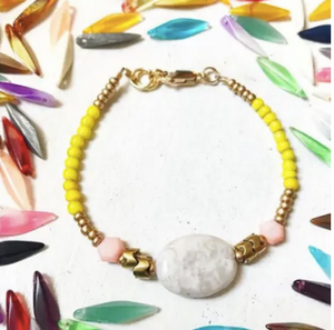 Brilliant Color Block Bracelet