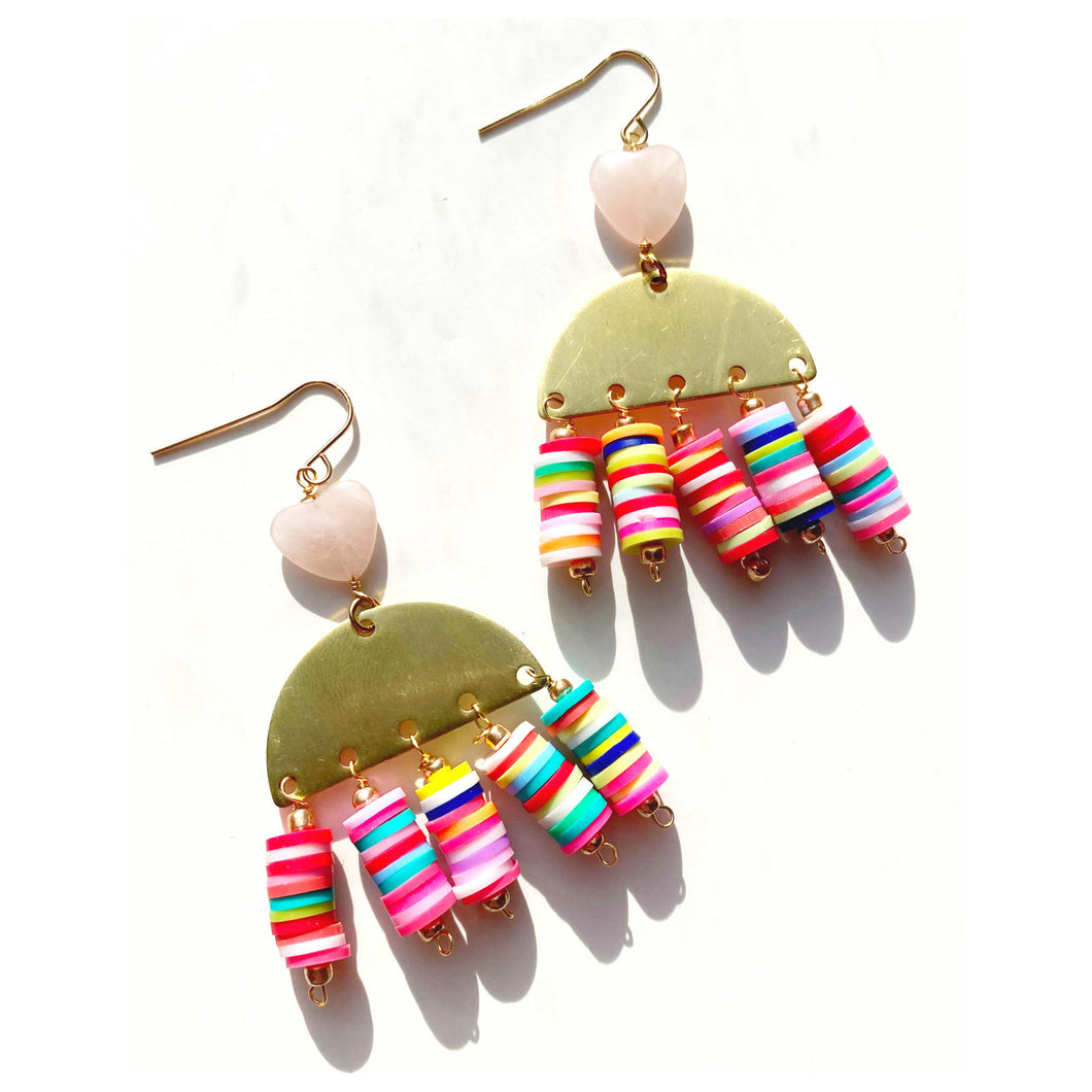 Valentines Day Statement Earrings