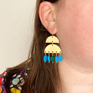 Turquoise City Earrings