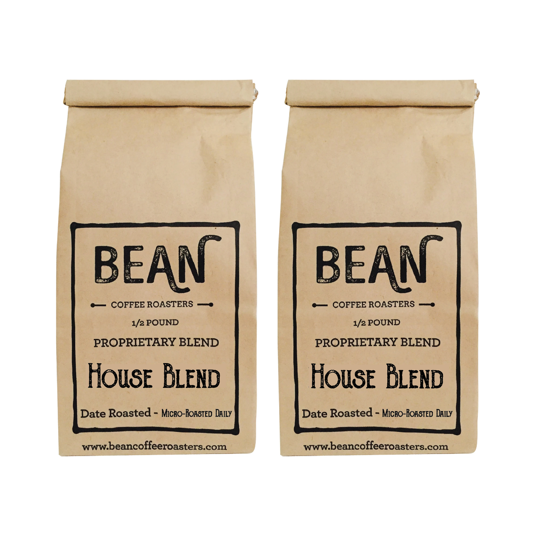 Whole BEAN Coffee 1 lb House Blend