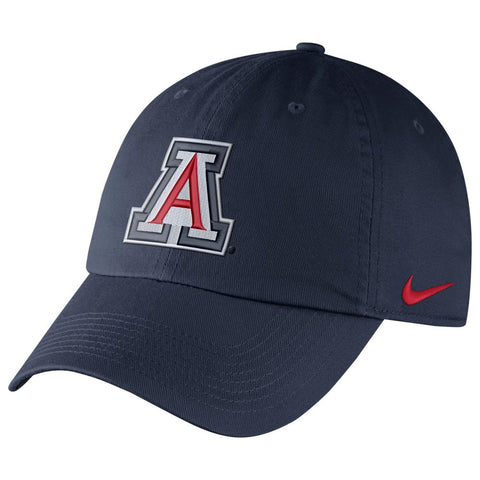 NCAA Arizona Wildcats Nike Dry Hertiage86 Authentic Slouch - Navy