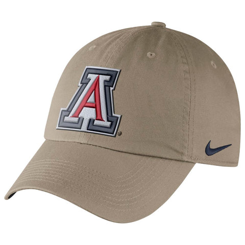 NCAA Arizona Wildcats Nike Dry Hertiage86 Authentic Slouch - Khaki