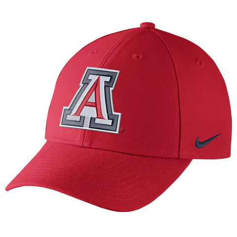 NCAA Arizona Wildcats Nike Dry Classic99 Wool Adjustable - Red