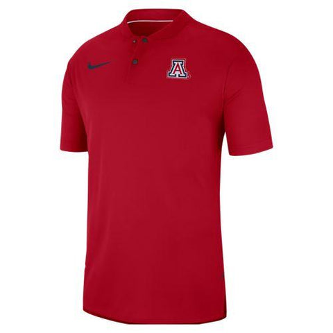 NCAA Arizona Wildcats Nike Dry Fit Elite Polo - Red