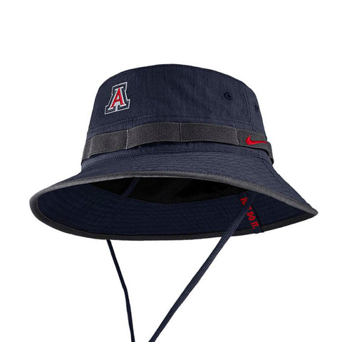 NCAA Arizona Wildcats Nike Sideline Bucket Hat - Navy