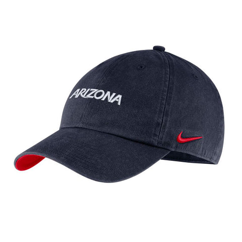 NCAA Arizona Wildcats Nike Heritage86 Cap Washed - Navy