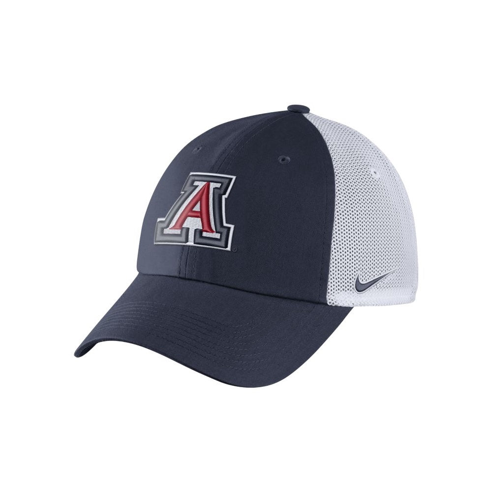 ARIZONA WILDCATS HERITAGE 86 DRI FIT MESH BACK - NAVY