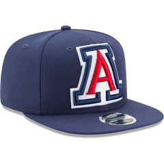 Arizona Wildcats Blue Logo Grand New Era 9FIFTY Secondary View