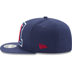 Arizona Wildcats Blue Logo Grand New Era 9FIFTY Left Side View