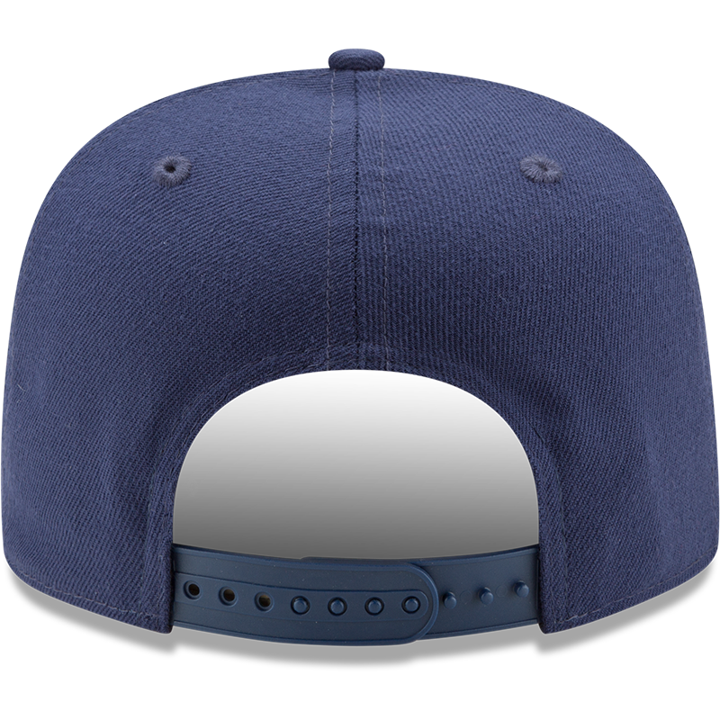 Arizona Wildcats Blue Logo Grand New Era 9FIFTY Back View