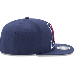 Arizona Wildcats Blue Logo Grand New Era 9FIFTY Right Side View