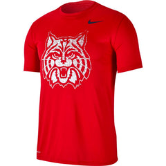 NCAA Arizona Wildcats Nike Legend Fade Tee - Red