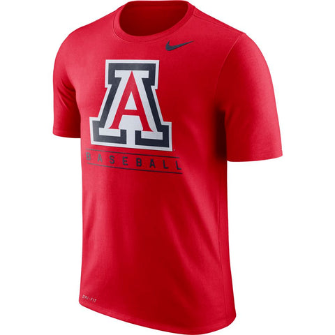 NCAA Arizona Wildcats Nike Legend Team Issue Tee - Red