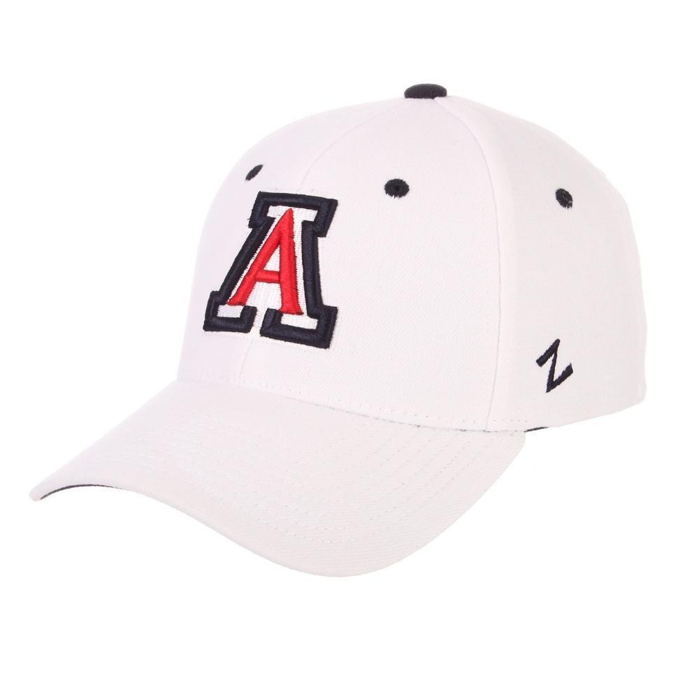 "NCAA Arizona Wildcats ZH ""A"" Zephyr Flex Cap - White"