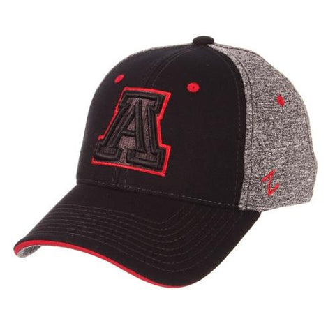 NCAA Arizona Wildcats 2T Tonal Outline ZH - Black