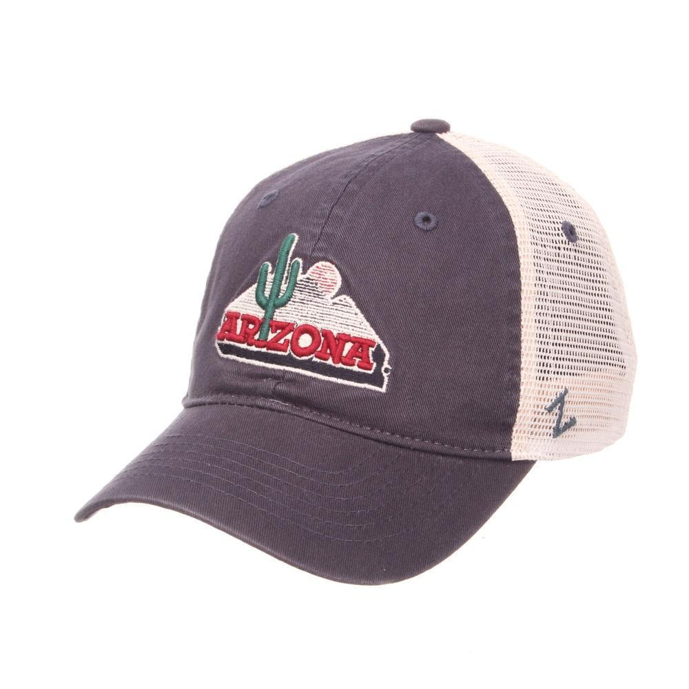 NCAA Arizona Wildcats University Cactus Zephyr Cap - Navy