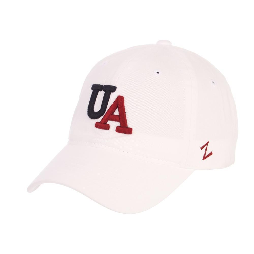 NCAA Arizona Wildcats Vault Logo Zephyr Scholarship - White