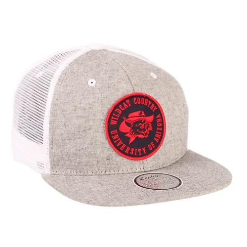 NCAA Arizona Wildcats Wilbur Vault Trucker - Heather