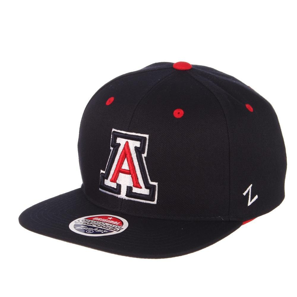 "NCAA Arizona Wildcats 32/5 ""A"" Zephyr Adjustable - Navy"