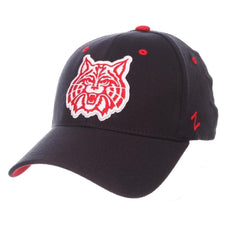 NCAA Arizona Wildcats ZH Cat Logo Zephyr Flex Cap - Navy