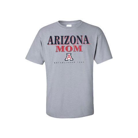 Arizona Wildcats Arizona Mom New Agenda Tee - Grey