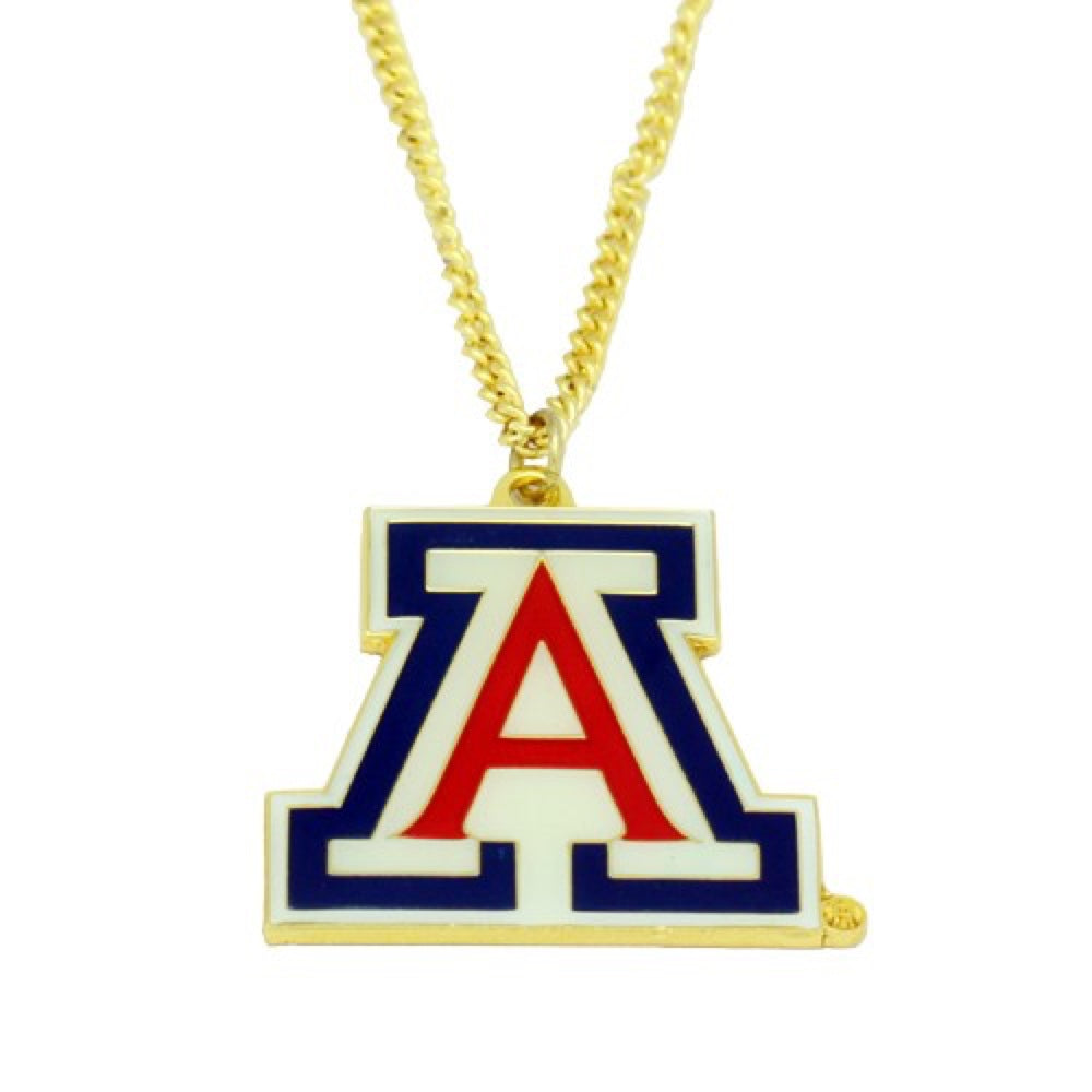 NCAA ARIZONA WILDCATS AMINCO LOGO NECKLACE