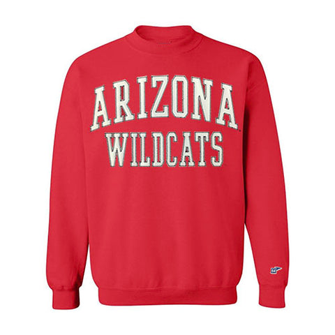 NCAA ARIZONA WILDCATS COPY ICON CAMPBELL CREW - RED