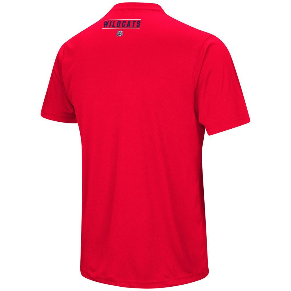 NCAA ARIZONA WILDCATS RESPECT THE GAME COLOSSEUM TEE – RED