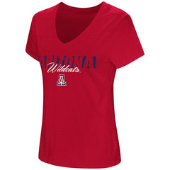 NCCA ARIZONA WILDCATS WOMEN'S LEAGUE OF THEIR OWN COLOSSEUM TEE – RED