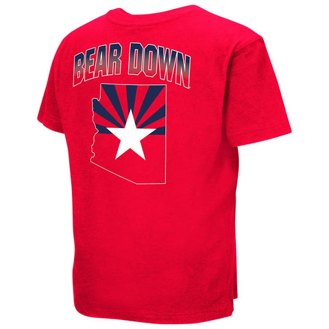 NCAA Arizona Wildcats Youth Golden Boy Colosseum T-Shirt