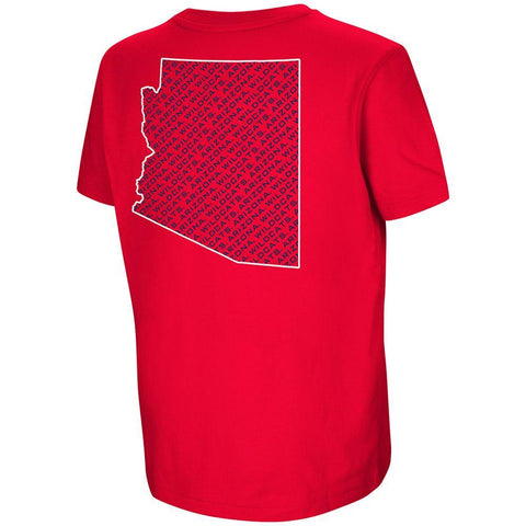 NCAA ARIZONA WILDCATS YOUTH KILLING ME COLOSSEUM TEE – RED