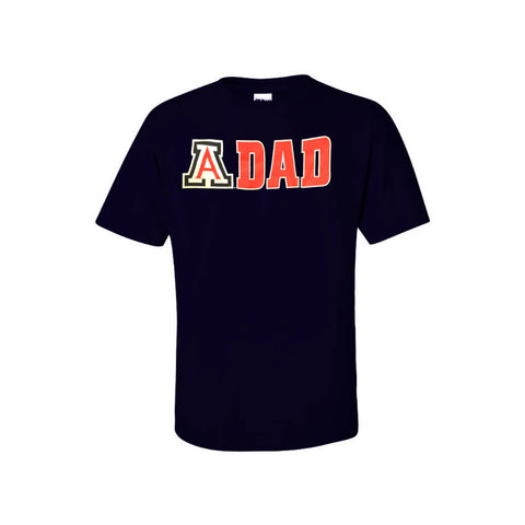 Arizona Wildcats Arizona Dad New Agenda Tee - Navy