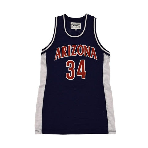NCAA ARIZONA WILDCATS MILES SIMON RETRO BRAND JERSEY - NAVY