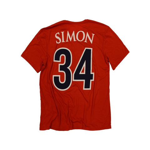 NCAA ARIZONA WILDCATS MILES SIMON PLAYER RETRO BRAND TEE - RED