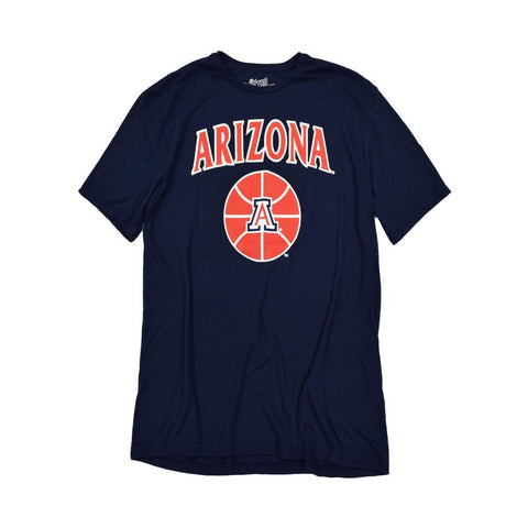 NCAA ARIZONA WILDCATS MILES SIMON PLAYER RETRO BRAND TEE - NAVY