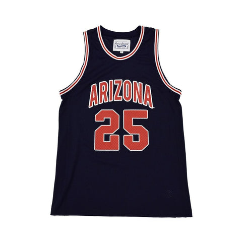 NCAA ARIZONA WILDCATS STEVE KERR RETRO BRAND JERSEY - NAVY