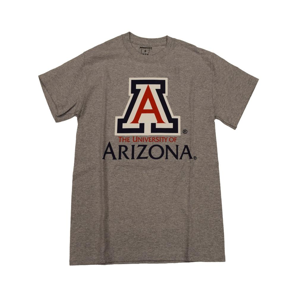 NCAA ARIZONA WILDCATS UNIVERSITY SPORTEX TEE - GREY