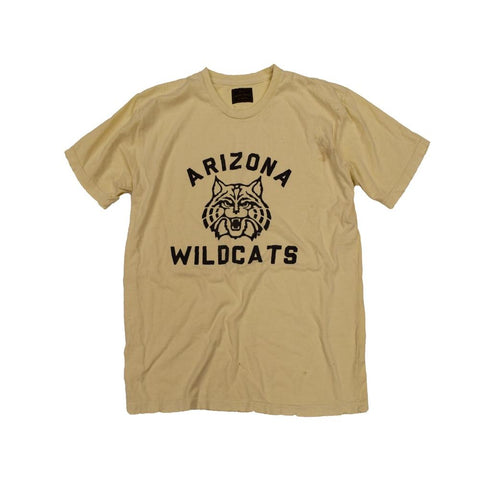 NCAA ARIZONA WILDCATS HEAVYWEIGHT VINTAGE COUNTRY RETRO BRAND TEE - WHITE