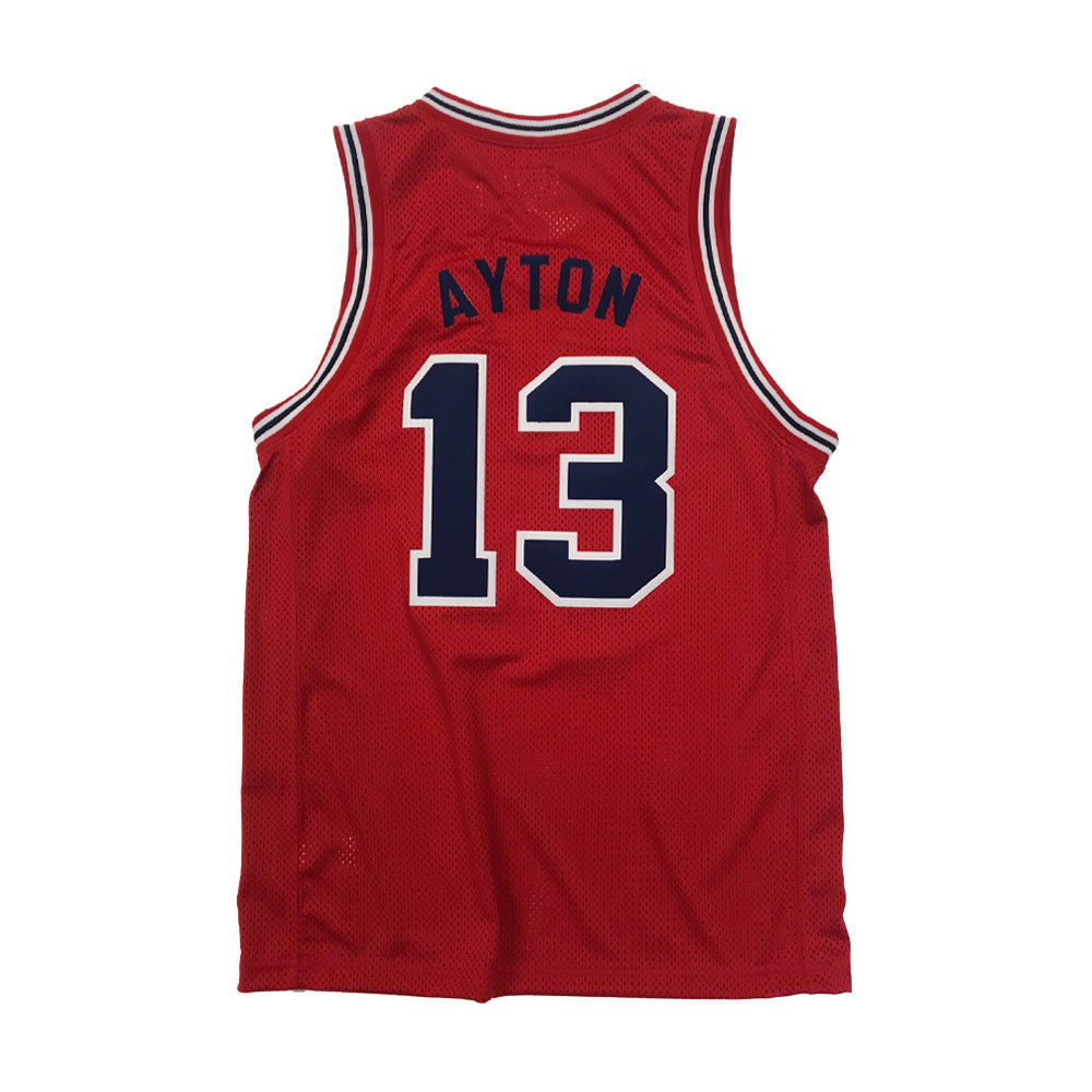 NCAA Arizona Wildcats DeAndre Ayton Retro Brand Tackle Twill Jersey - Red